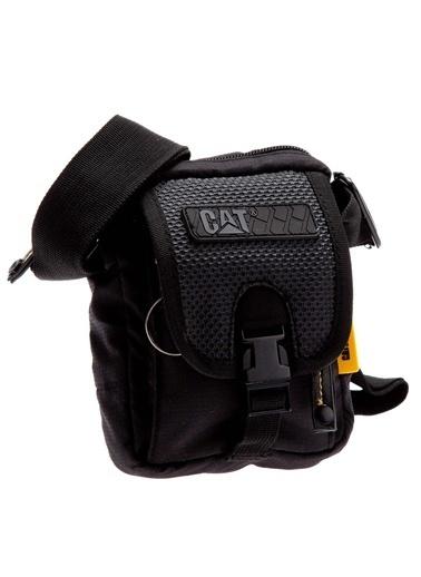 Caterpillar Messenger / Askılı Çanta Siyah